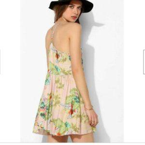 Somedays Lovin Womens S Backyard Geisha Mini Dress